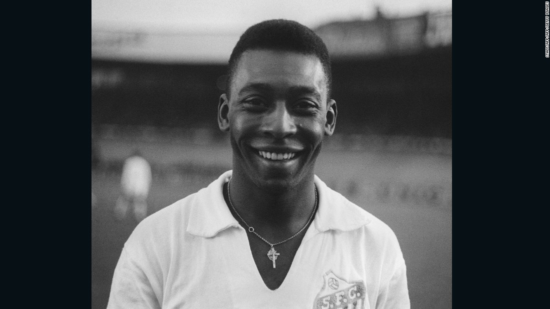 "Pictured wearing a Santos jersey in 1961, a similar shirt is also estimated to attract bids of $10,000. A ""conservative estimate"" on the 2000-item collection has been placed at $5.1 million."