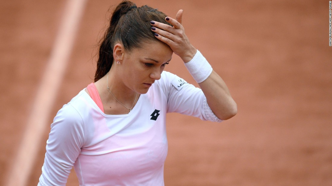 The biggest shock of the day came when world No. 2 Agnieszka Radwanska was eliminated by Tsvetana Pironkova, who comes in 100 places below the Pole in the world rankings.