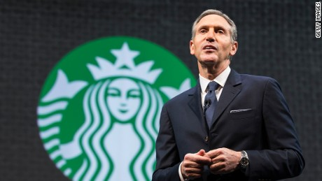 Starbucks CEO in 2016: Politics is a cloud over U.S. consumers
