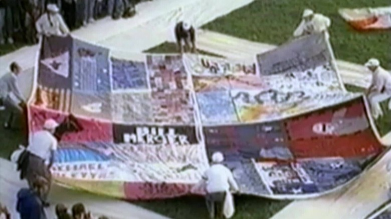 Creating the AIDS memorial quilt