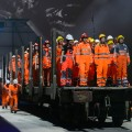 Switzerland tunnel opening ceremony 2