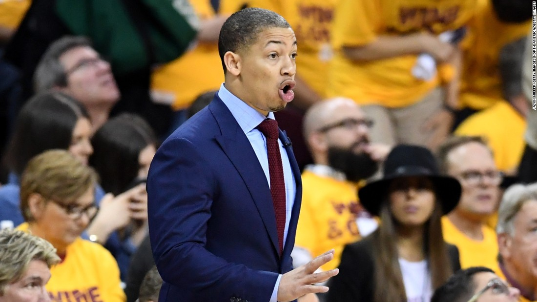 Tyronn Lue of the Cavaliers is gunning to be the first rookie head coach to lead his team to the NBA championship since Pat Riley in 1982. Riley, incidentally, replaced coach Paul Westhead in the middle of that  Lakers season, a feat Lue will also try to replicate after replacing coach David Blatt this year.