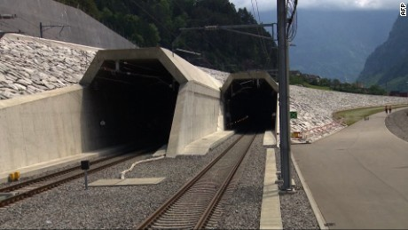 The world's longest tunnel has officially opened, with the trailblazing rail passage under the Swiss Alps aiming to ease transit through the heart of Europe.