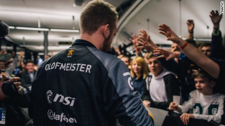 "Olof ""olofmeister"" Kajbjer: ""It's weird. You walk around and people want to take pictures and you don't really understand it."""