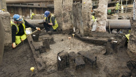 Ancient Roman writing tablets discovered at London building site