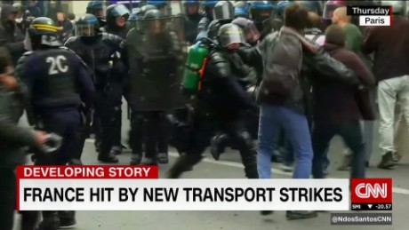 France hit by transport strikes