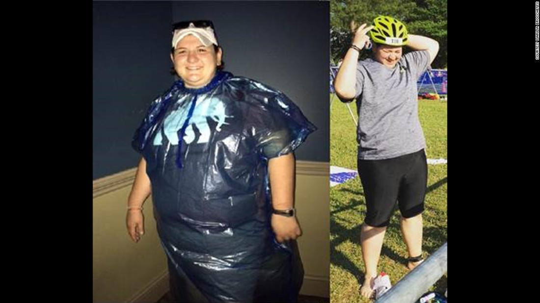 After pursuing bariatic surgery and becoming a triathlete, Marilia Brocchetto has lost almost 100 pounds. Click through our gallery to learn more about her story in her own words.