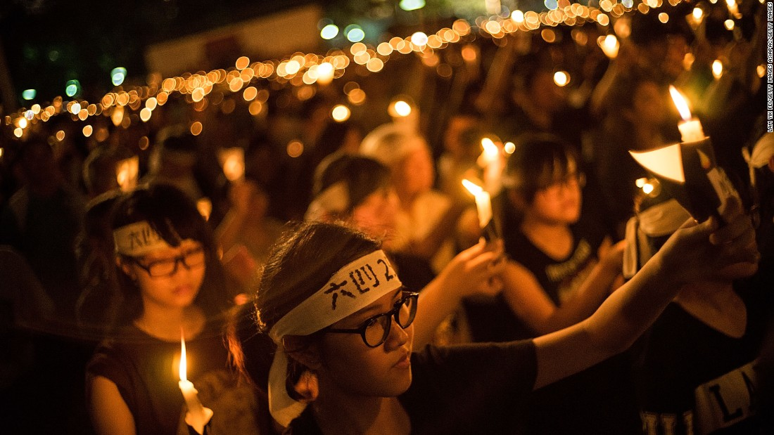 "<strong>Tiananmen controversy:</strong> Student groups <a href=""http://cnn.com/2016/06/02/asia/hong-kong-china-tiananmen/"">split from traditional pro-democracy organizations</a> over the annual commemoration of the June 4th Tiananmen Square massacre. Nevertheless, <a href=""http://www.cnn.com/2016/06/04/asia/hong-kong-tiananmen/"">tens of thousands attend the Victoria Park vigil</a>, with hundreds more participating in localist and student-run forums around the city."