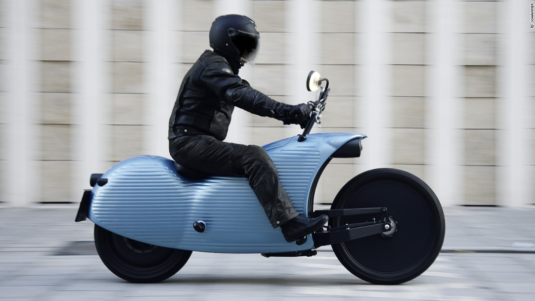 The Johammer J1 electric motorcycle is one of many e-bikes designed with the future in mind.