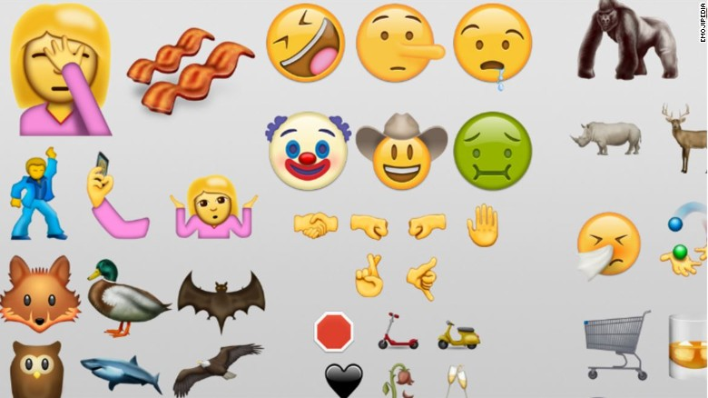What will you do with these new emojis?