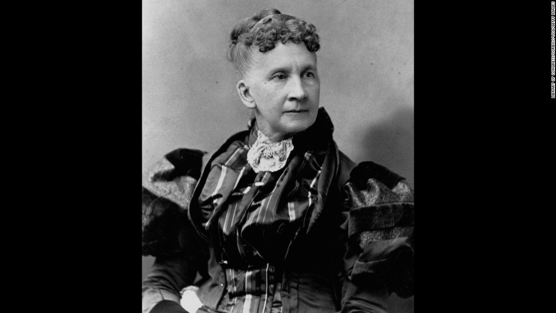 Belva Lockwood was the first woman to practice law in front of the U.S. Supreme Court. She ran for president in 1884 and 1888 on the Equal Rights Party ticket.
