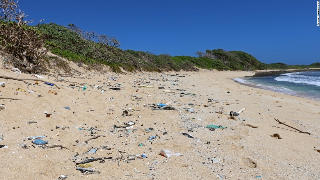 The Aloha State's shorelines are being littered with marine debris that is threatening not only the environment, but also critical wildlife.