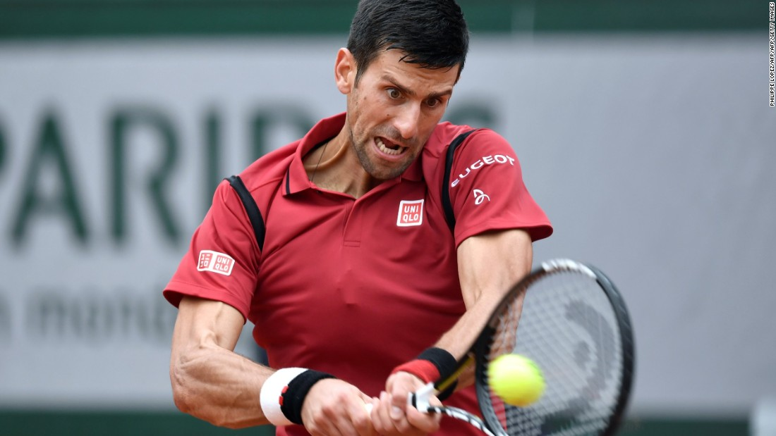 But Djokovic dominated from thereon, dropping just seven more games en route to winning the match.