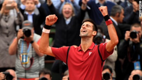 Novak Djokovic wins French Open