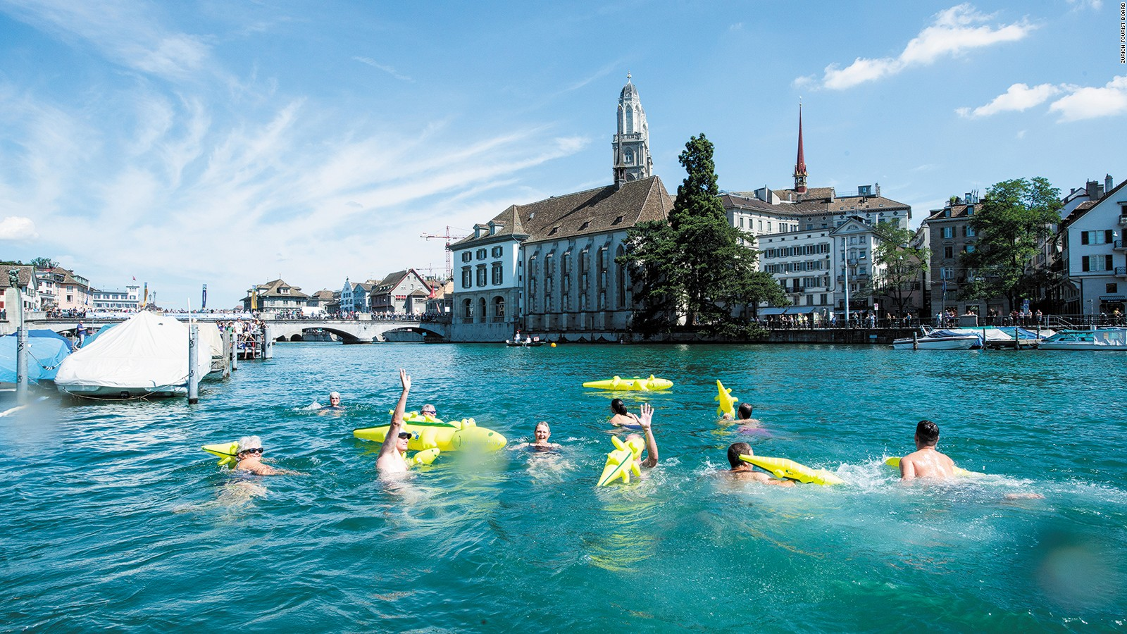 World's best cities for swimming, from Sydney to Zurich   CNN Travel
