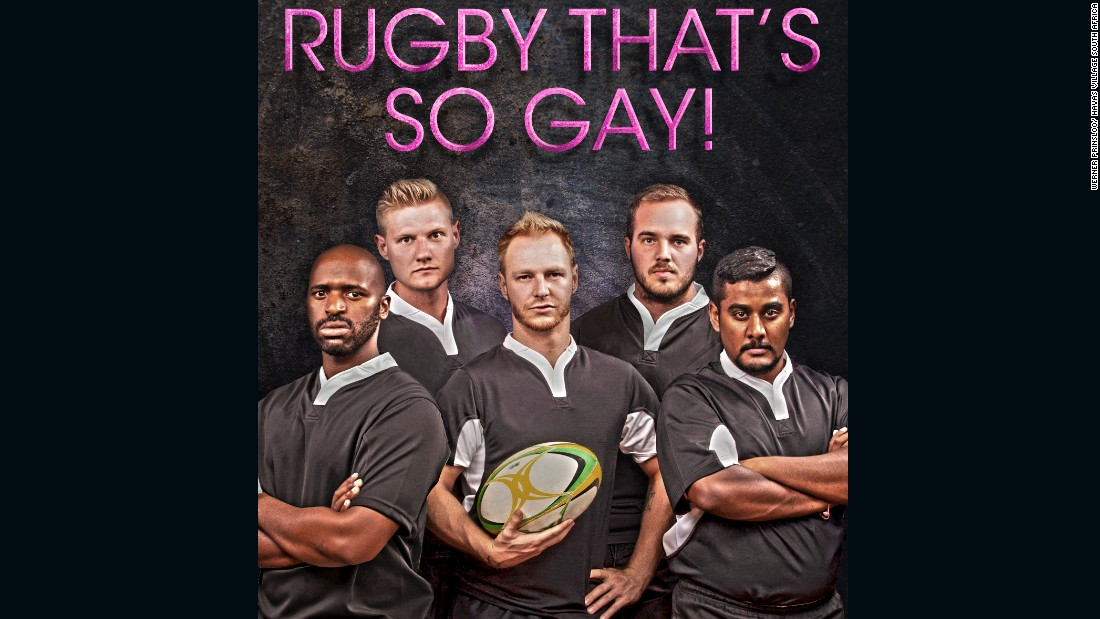 South Africa's Jozi Cats, the first gay rugby team in Africa, is using a provocative advertising campaign to recruit members to its club.