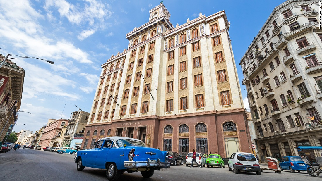 Art deco tour reveals a treasure trove of havana buildings for Art deco building materials