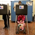 11 kids voting booths RESTRICTED