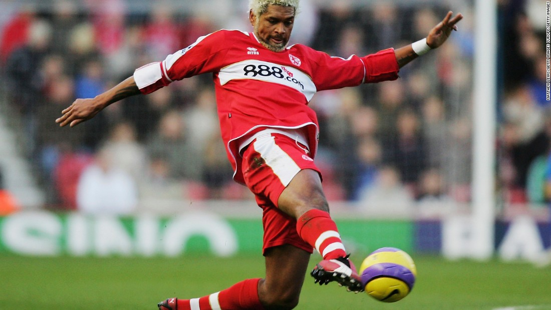 While playing for Middlesbrough during the 2005 season, Abel Xavier tested positive for a banned steroid but argued he had ingested the substance because of a contaminated supplement.