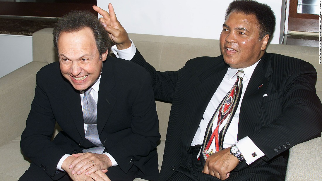 "Billy Crystal will also deliver a eulogy. The comedian and Ali had a friendship that lasted more than three decades, he wrote<a href=""http://www.usatoday.com/story/sports/boxing/2016/06/04/muhammad-ali-billy-crystal-essay/85373424/"" target=""_blank""> in a 2010 piece for USA Today</a>, calling the boxer who refused draft orders to join the Army a teacher, healer and ""the fighter who wouldn't fight."""