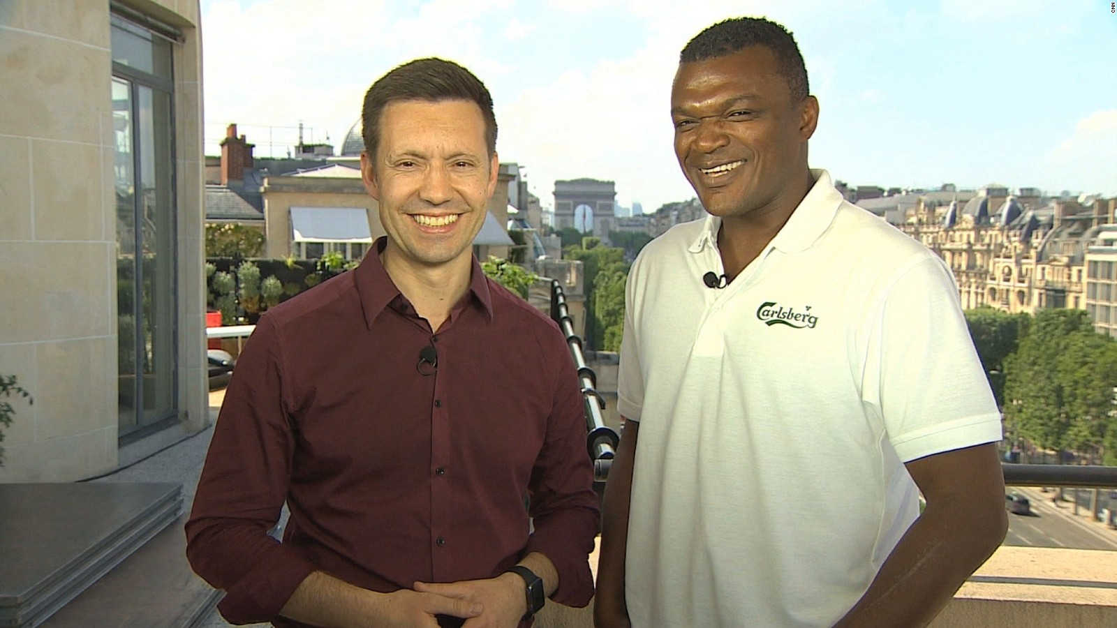 France legend Marcel Desailly talks Euros CNN Video