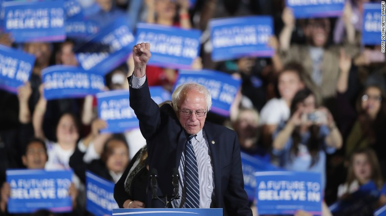 Five moments from Bernie Sanders' improbable run