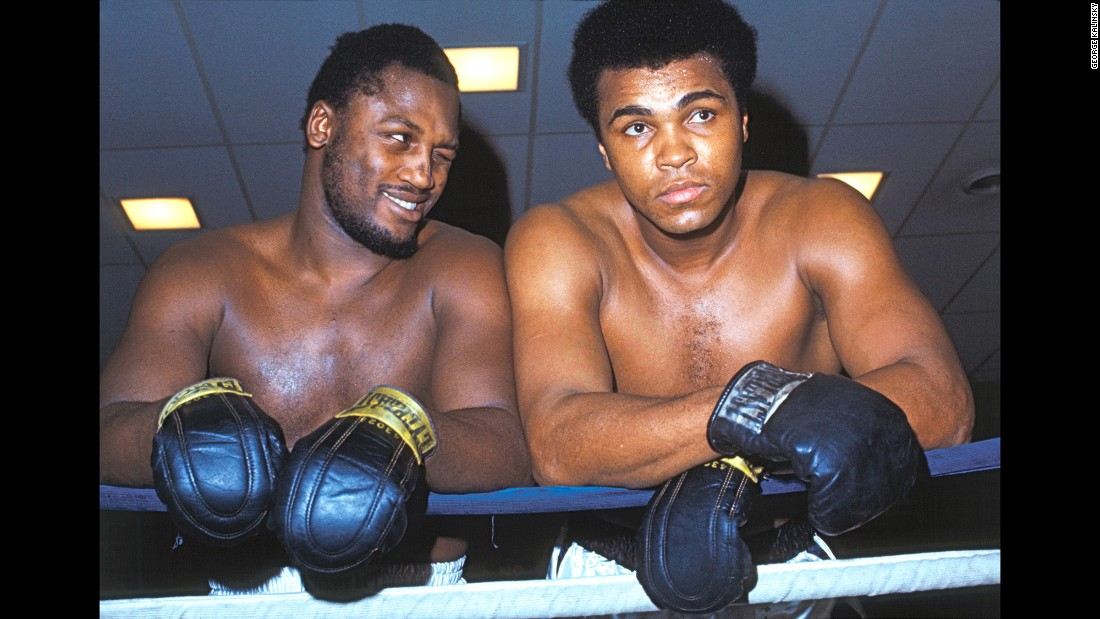 "In 1971, Kalinsky managed to get Ali and Joe Frazier together before their historic first fight, which was billed as the ""Fight of the Century."" The two were cooperative and friendly, Kalinsky said, as he took promotional shots at Frazier's gym in Philadelphia. ""They had a tremendous amount of respect for each other."""