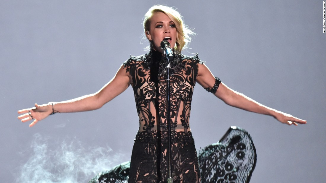 CMT Music Awards 2016: Carrie Underwood, Tim McGraw win big