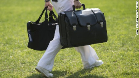 The nuclear football is a lot like a Denny's menu