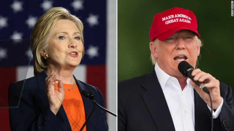 Commander-in-chief test: Clinton vs. Trump