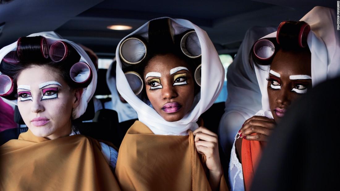 Behind the scenes of Africa's catwalks