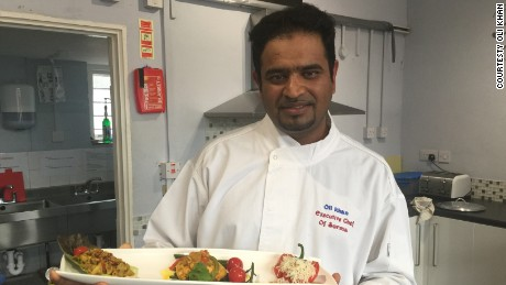 Oli Khan says immigration laws mean it costs too much to bring in curry chefs from Bangladesh.
