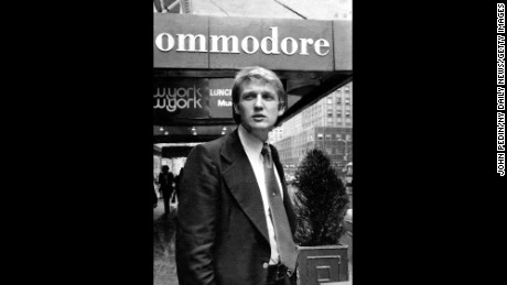 In 1976 Donald Trump announced plans to build a $100 million dollar Regency Hotel. (Photo by John Pedin/NY Daily News via Getty Images)