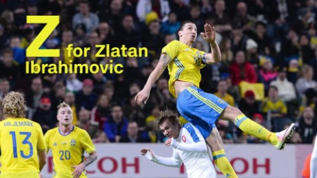 Ronaldo? Zlatan? The A to Zs of Euro 2016