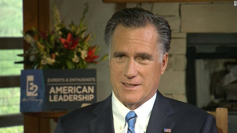 Romney not ruling out voting for Libertarian candidate