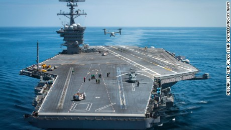 U.S. aircraft carriers