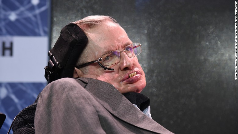 Physicist Stephen Hawking has died at age 76