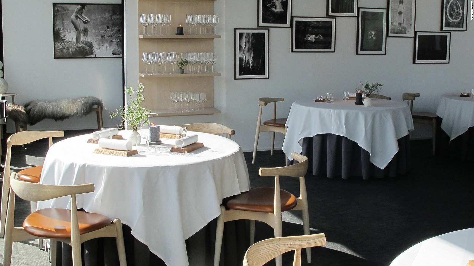 maaemo most northerly restaurant with michelin star cnn travel