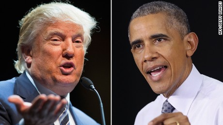 A few times Obama and Trump agreed on foreign policy