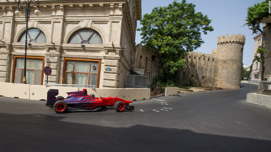"The first racer to test the Baku layout was hometown hero Gulhuseyn Abdullayev, who drove a GP3 car, ""Just like the F1 drivers enjoy city circuits in Monaco and Singapore, they will like Baku -- although it is faster,"" he told CNN."