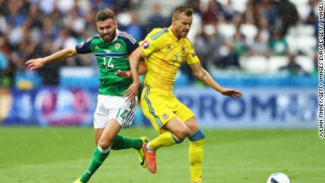 Northern Ireland and Ukraine both suffered defeat in their opening games.