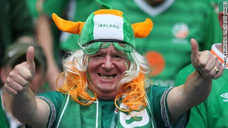 At Euro 2016, Irish fans are out of control - in the most delightful way