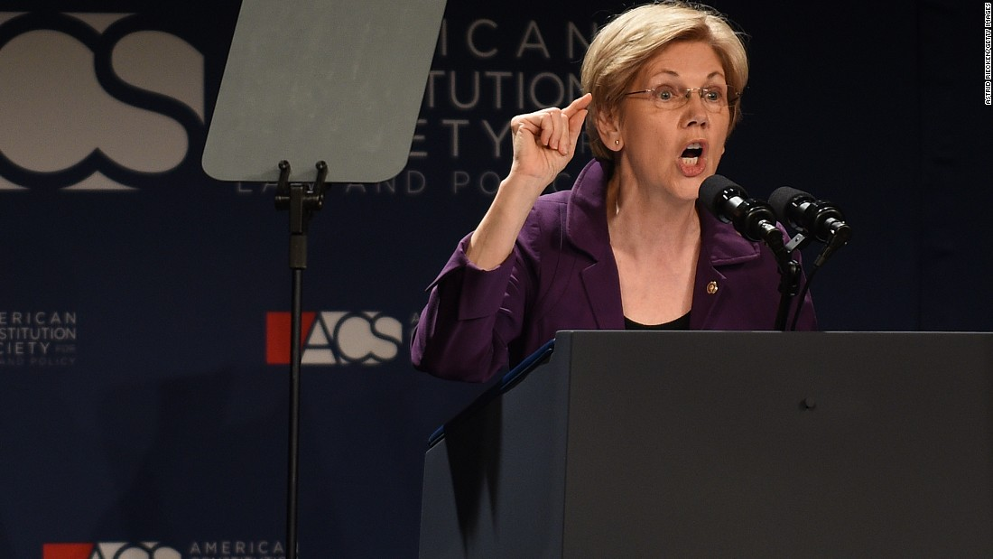 Massachusetts Sen. Elizabeth Warren