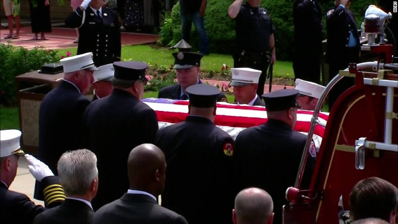 9/11 hero laid to rest