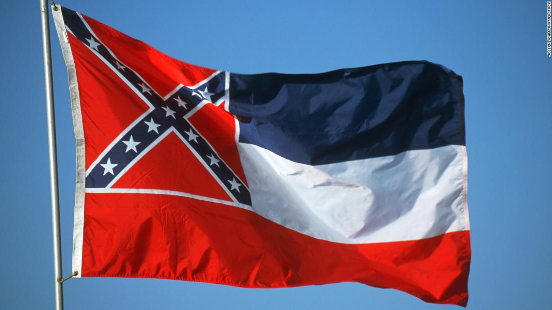 Black judge removes Mississippi flag with Confederate emblem from court