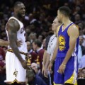 LeBron Steph Curry nba finals 2