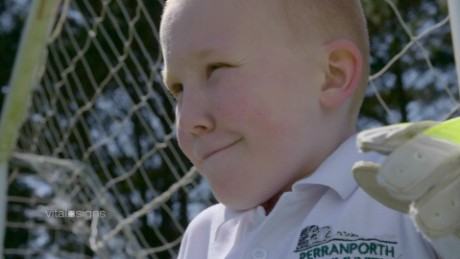 How prosthetics can help a boy's dream come true