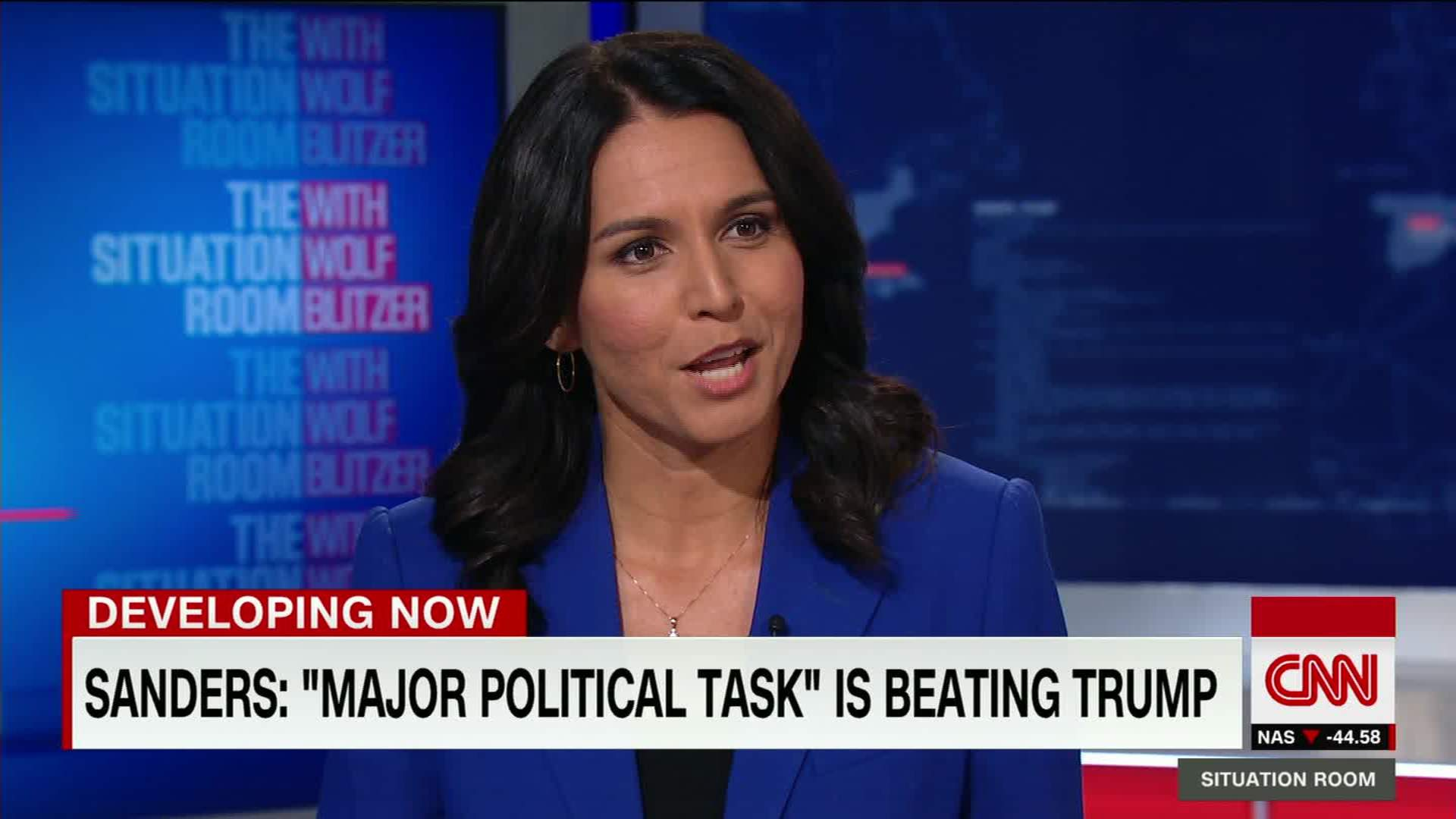 Is Rep. Tulsi Gabbard Still Supporting Bernie Sanders?   CNN Video
