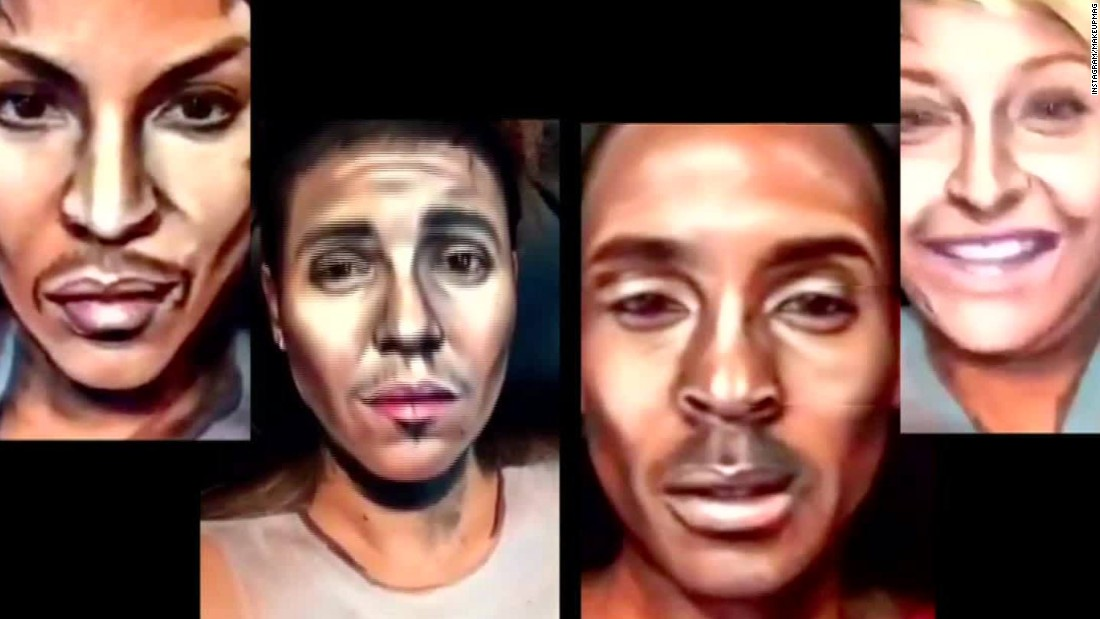 Amazing celebrity makeup transformations Style
