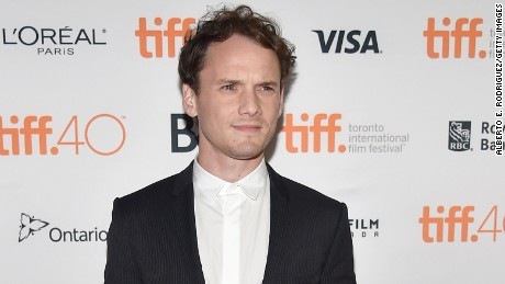 "TORONTO, ON - SEPTEMBER 10:  Actor Anton Yelchin attends the ""Green Room"" and ""The Chickening"" premieres during the 2015 Toronto International Film Festival at Ryerson Theatre on September 10, 2015 in Toronto, Canada.  (Photo by Alberto E. Rodriguez/Getty Images)"